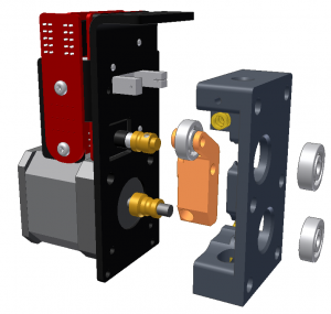 mechanische en electronische componenten in een samengesteld product. Wij doen CAD ontwerp.
