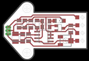Electronisch ontwerp sensor. Wij doen CAD ontwerp.